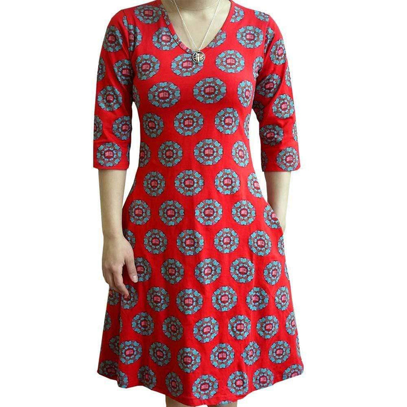 Womens Literature Dress, Womens Language Arts Dress, Womens Smart Clothing, Ms. Frizzle Dresses, Womens Geeky Dresses, Dresses with Pockets, Teacher Dress, Womens Book Dress, Womens Books Dress, Womens Library Dress, Librarian Dress, Reading Dress, Womens STEM Dress, Smart Geeky Women's Dress Literature Book Dress with Pockets - SVAHA USA