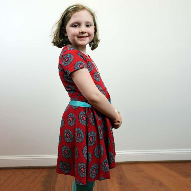 Girls Summer Dress, Literature Girls Dress, Language Arts Girls Dress, STEM Girls Dress, Humanities Girls Dress, Library Girls Dress, Reading Girls Dress, Educational Girls Dress, Reading Girls Dress, Summer Girls Dress, Book Girls Dress, Books Mandala Kids Twirl Dress & Leggings Set with Pockets - Svaha USA