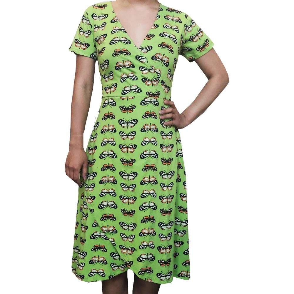 Butterfly Mimicry Dress, STEM Dress, Summer Dress, Evolutionary Dress, Science Dress, Biology Dress, Lepidopterology Dress, Lepidoptera Dress, Chemical Dress, Entomology Dress, Botany Dress, STEM Dress, Insect Women's Dress with Pockets - Svaha USA