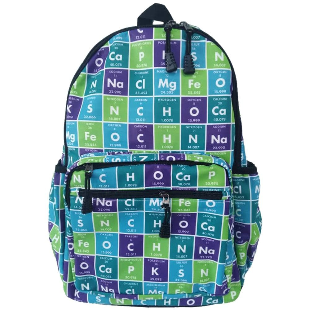 Periodic Table of Elements Backpack, Periodic Table Backpack, Chemistry Backpack, Chemical Elements Backpack, STEM Backpack, Science Backpack, Chemistry Backpack, Periodic Table of Elements Backpack - SVAHA USA