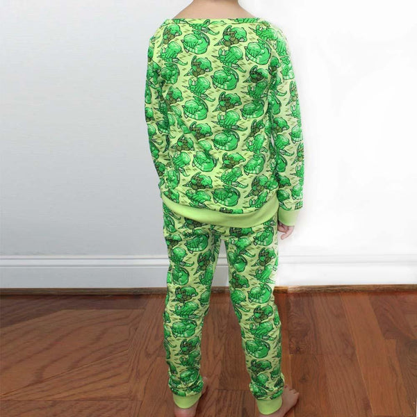 Sleeping Cthulhu Kids Pajamas Set