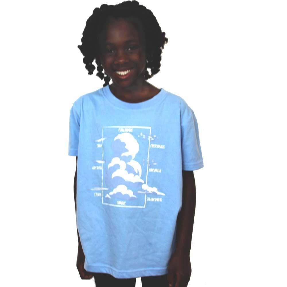 e17930427 ... Cloud Types Kids T-Shirt - Svaha USA ...