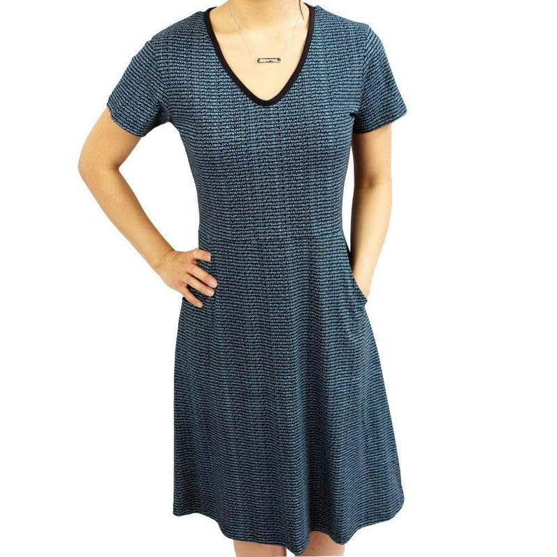 Communications Dress, Coder Dress, Cryptology Dress, Technology and Coding Dress, IT Dress, Cryptologist Dress, Cryptography Dress, STEM Dress, Cryptanalysis Dress, Cryptologic Research Dress, STEM Dress, Code Women's Dress with Pockets - Svaha USA