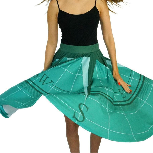 Compass Rose Twirl Skirt