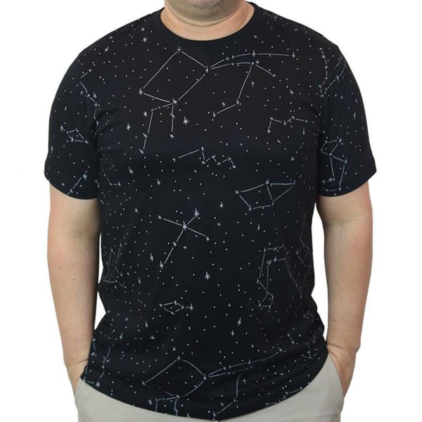 Constellations Glow-in-the-Dark Unisex Adults T-Shirt