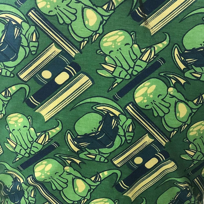 Reading Cthulhu Backpack Print - SVAHA USA