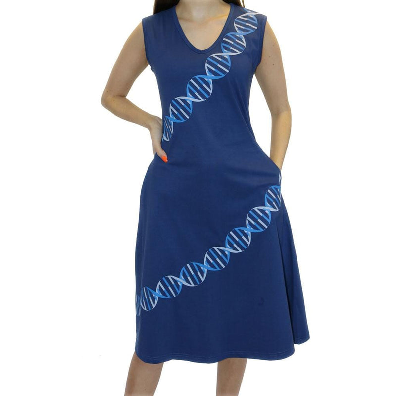 DNA Helix Strand Katherine Dress [FINAL SALE}