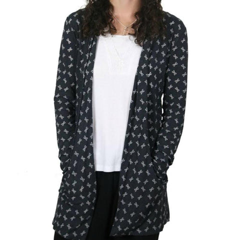 4f9f73986 DNA Double Helix Cardigan