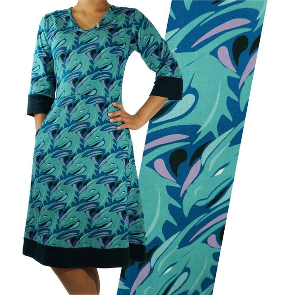 Sea Dragon Rosalind Dress