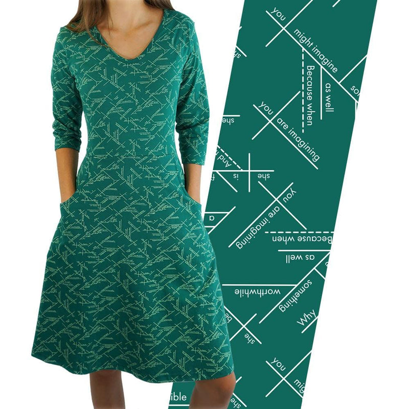 Sentence Diagrams Rosalind Dress [FINAL SALE]