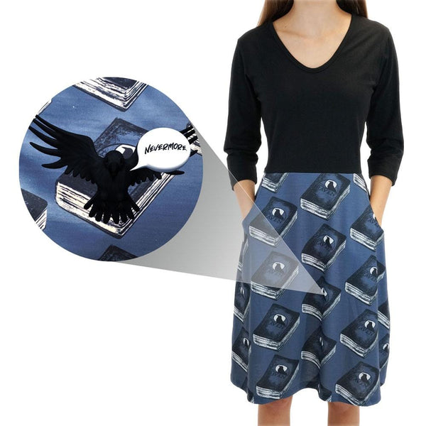 "Augmented Reality: Quoth The Raven ""Nevermore"" Ada Dress"