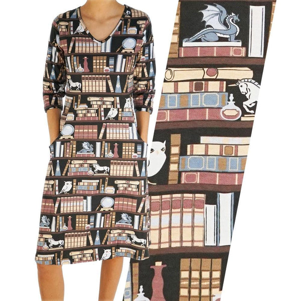 Librarian's Secret Chamber Rosalind Dress [FINAL SALE]