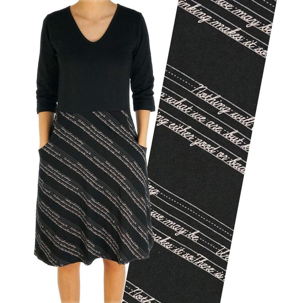 Shakespearean Script Ada Dress [FINAL SALE]