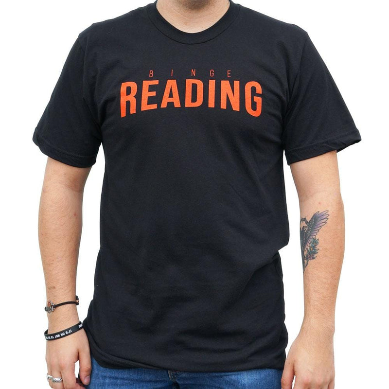 Binge Reading Unisex Adults T-Shirt