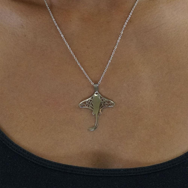 Stingray Stainless Steel Necklace