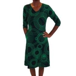 Spirograph Katherine Dress