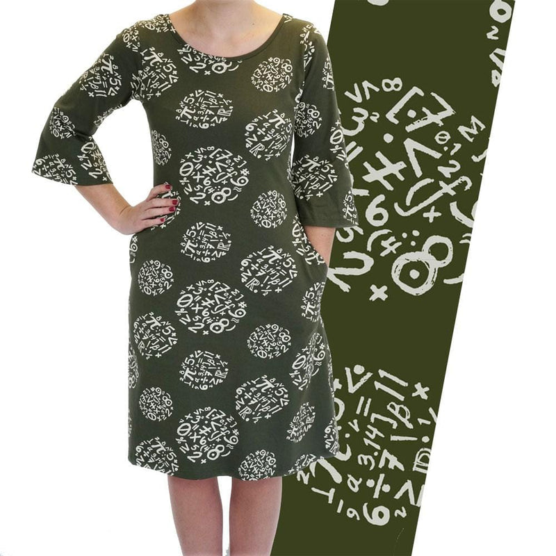 Circles of Calculation Curie Dress [FINAL SALE]