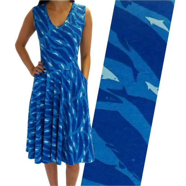Dolphins and Whales Parks Dress