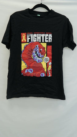 'The Cancer Fighter' Unisex Adults T-Shirt Sample - S