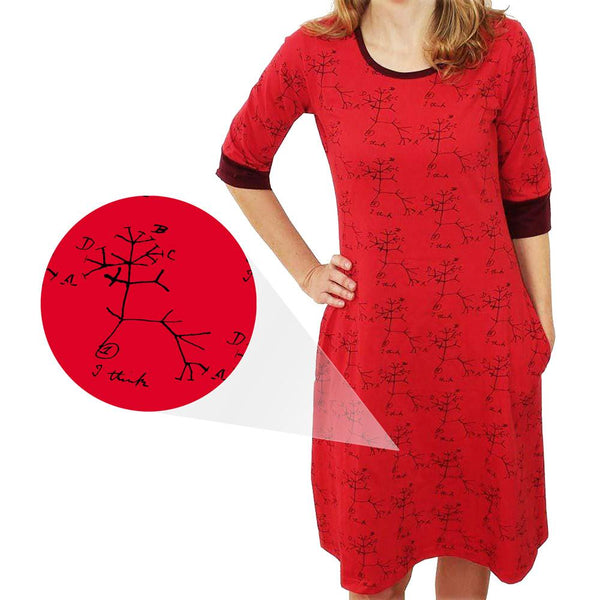 Darwin's Tree of Life Katherine Dress [FINAL SALE]