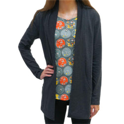 Deep Space Adults Cardigan with Pockets