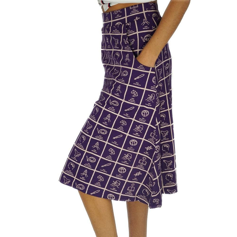 Dewey Decimal Classification® A-Line Skirt