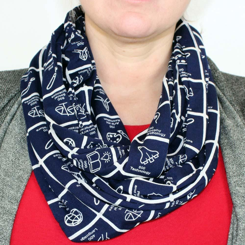 e9178e361f3 ... Dewey Decimal Classification® Infinity Scarf - Svaha USA STEAM-themed  products for Science