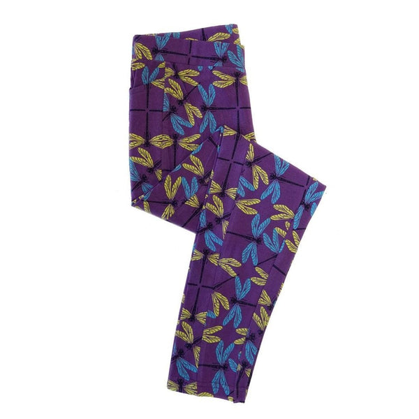 Dragonfly Kids Leggings with Pockets