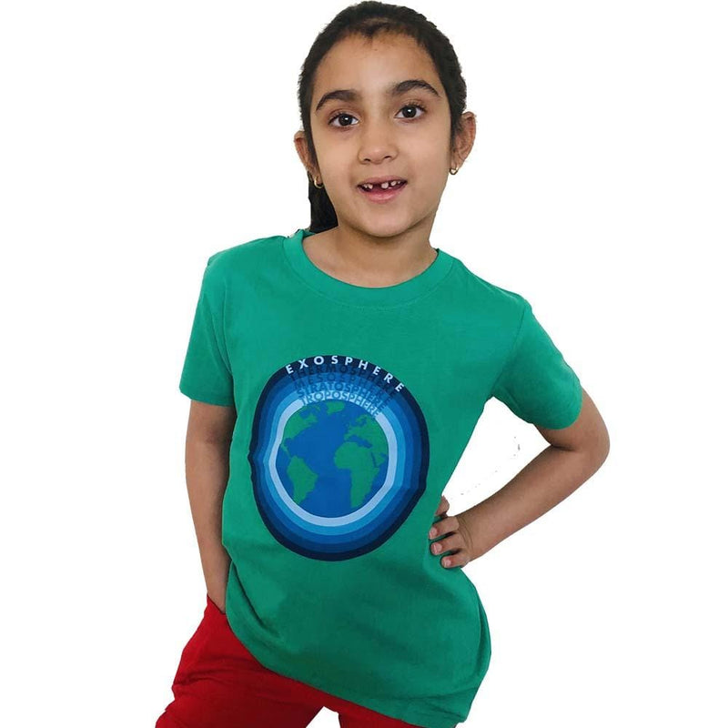 Atmospheric Layers Kids T-Shirt - Svaha USA