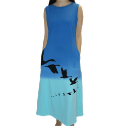 Echelon Migration Anne Dress