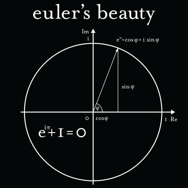 Euler's Beauty Glow-in-the-dark Unisex Adults T-Shirt