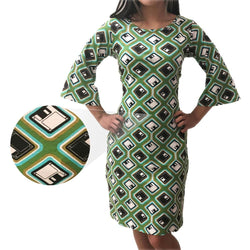 Retro Floppy Disk Curie Dress