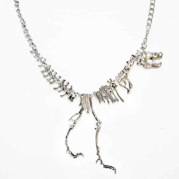 Tyrannosaurus Rex Fossil Chain Necklace