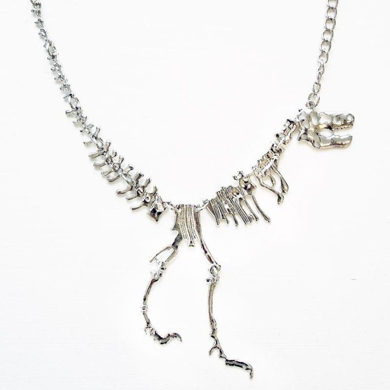 Tyrannosaurus Rex Fossil Chain Necklace [FINAL SALE]
