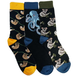 From Seas To Trees Sock Bundle - 3-Pack
