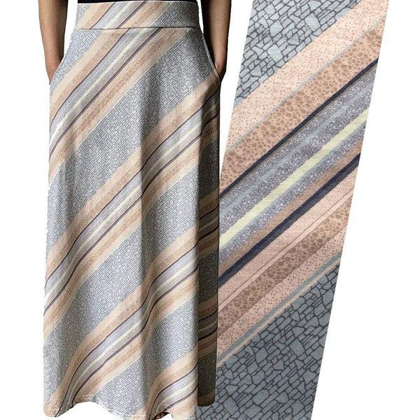 Rock Layers Maxi Skirt [FINAL SALE]