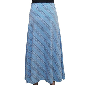 Glacier Skirt, Maxi Skirt, Ice Skirt, Earth Skirt, Ocean Skirt, Iceburg Skirt, Snow Skirt, Earth Science Skirt, Glacier Layers Maxi Skirt with Pockets - SVAHA USA