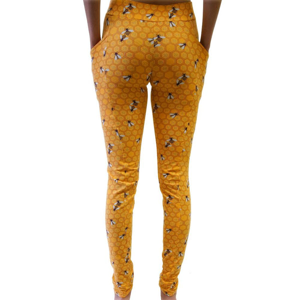 Honeycomb Adult Leggings with Pockets
