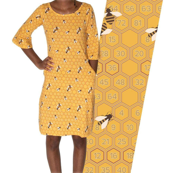 Honeycomb Curie Dress