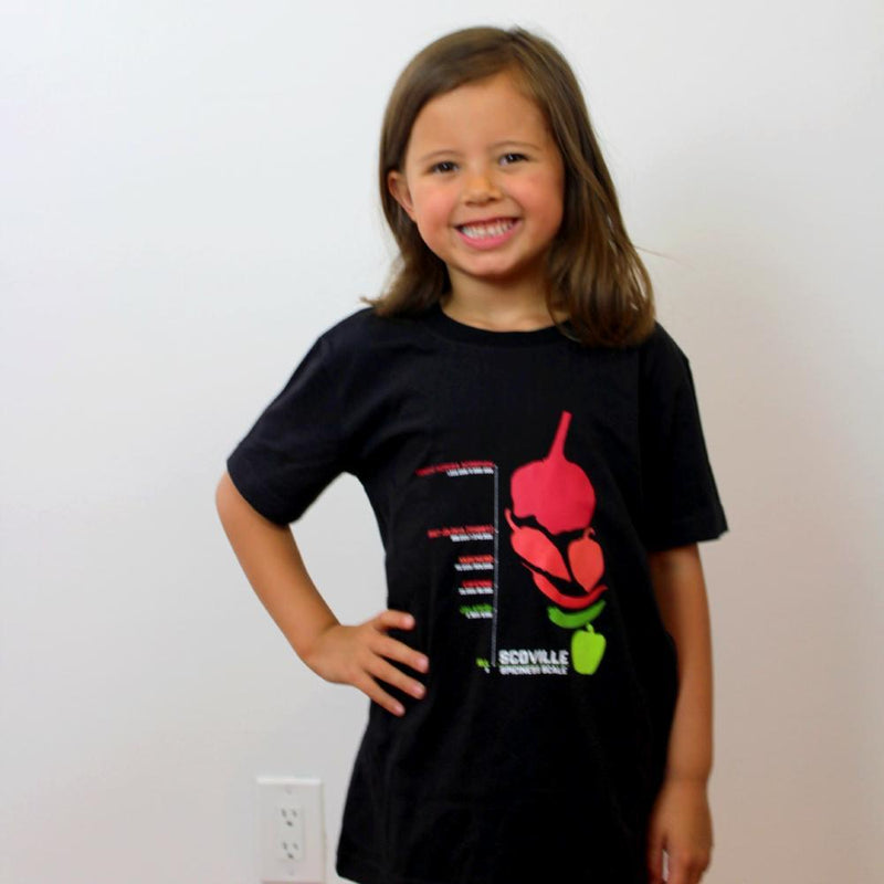 Scoville Scale Kids T-Shirt - Svaha Apparel