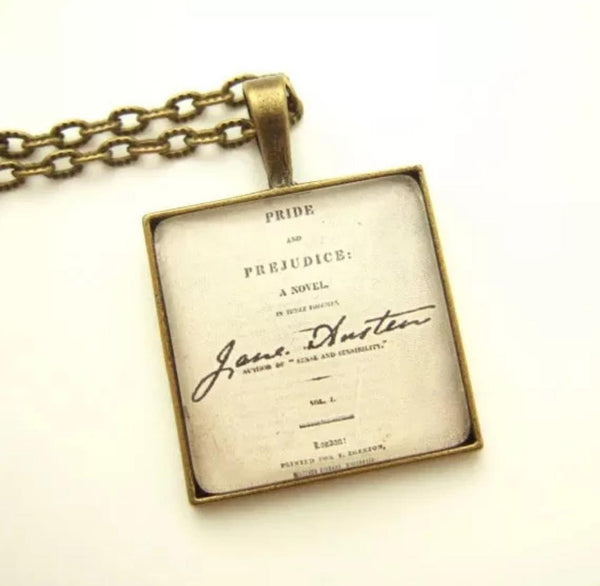 Austen's 'Literary Treasure' Necklace