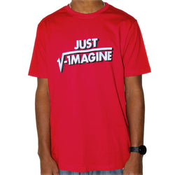 Just Imagine Unisex Adults T-Shirt [FINAL SALE]