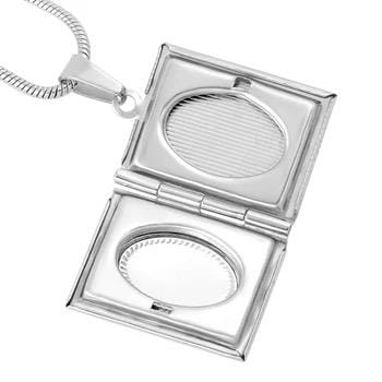 Book Locket Necklace - Svaha USA