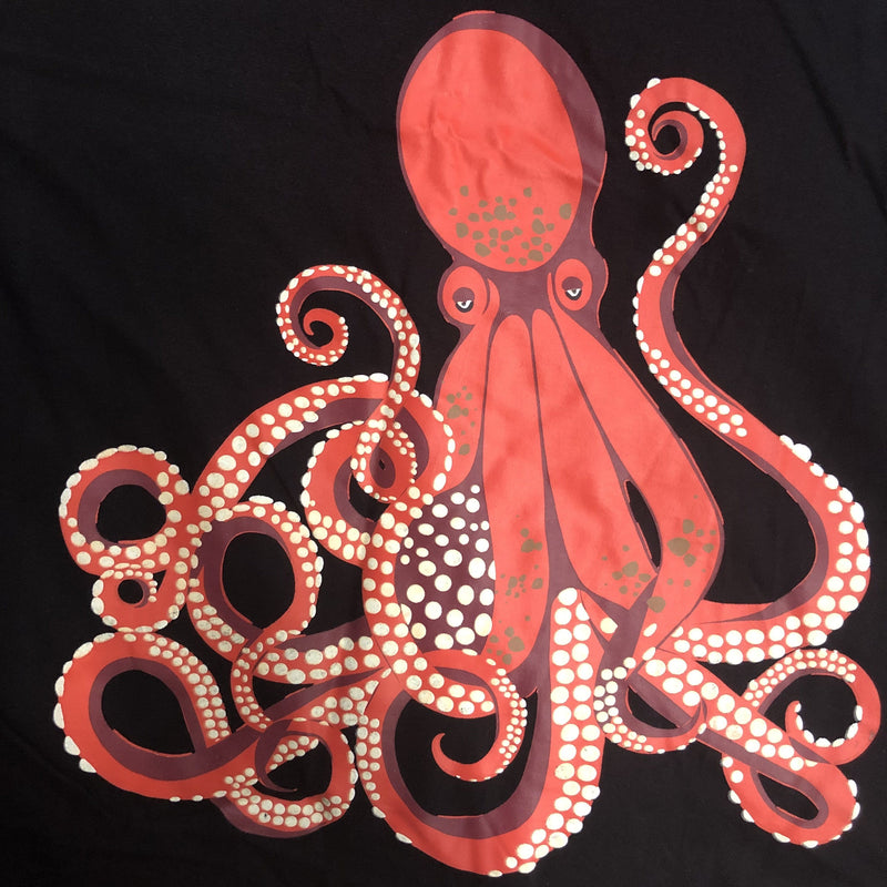 Octopus Glow-in-the-Dark Print - Svaha USA