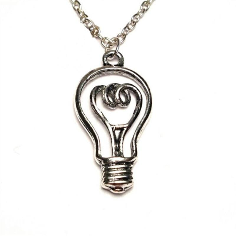 Light Bulb Necklace - Svaha USA