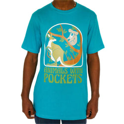 Animals With Pockets Unisex Adults T-Shirt