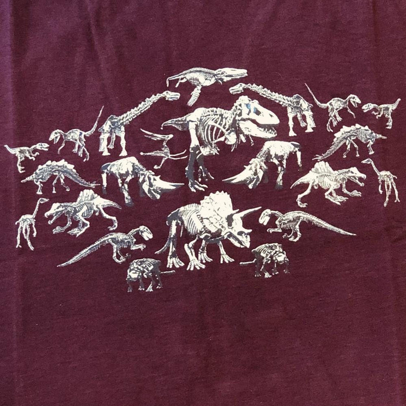 Mirrored Dinosaur Fossils Kids T-Shirt [FINAL SALE]