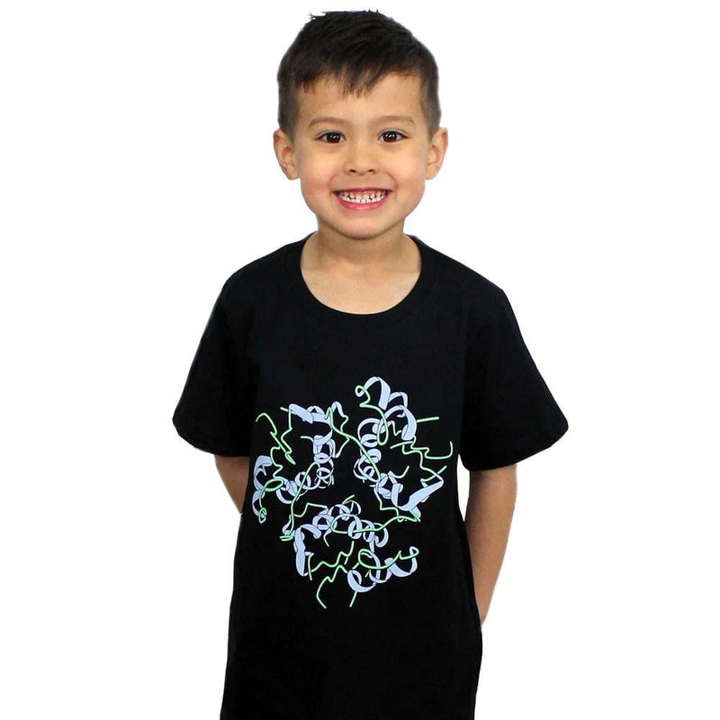 Insulin Molecule Kids T-Shirt - Svaha USA
