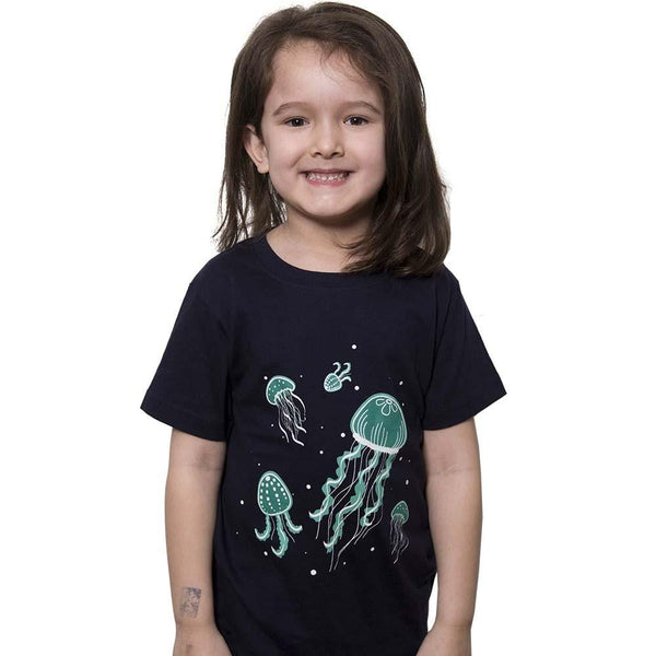 Kids Animal Shirt, Kids Glow-in-the-Dark Tee, Kids STEM T-Shirt - SVAHA USA