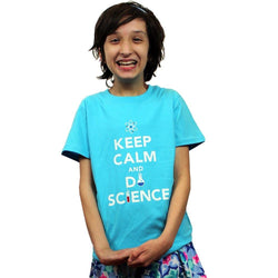 'Keep Calm and Do Science' Kids T-Shirt - Svaha USA